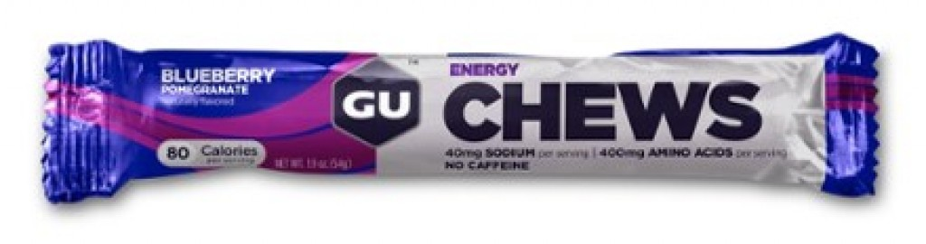 GU ENERGY CHEWS - Blueberry Pomegranate