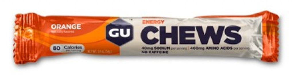 GU ENERGY CHEWS - Orange