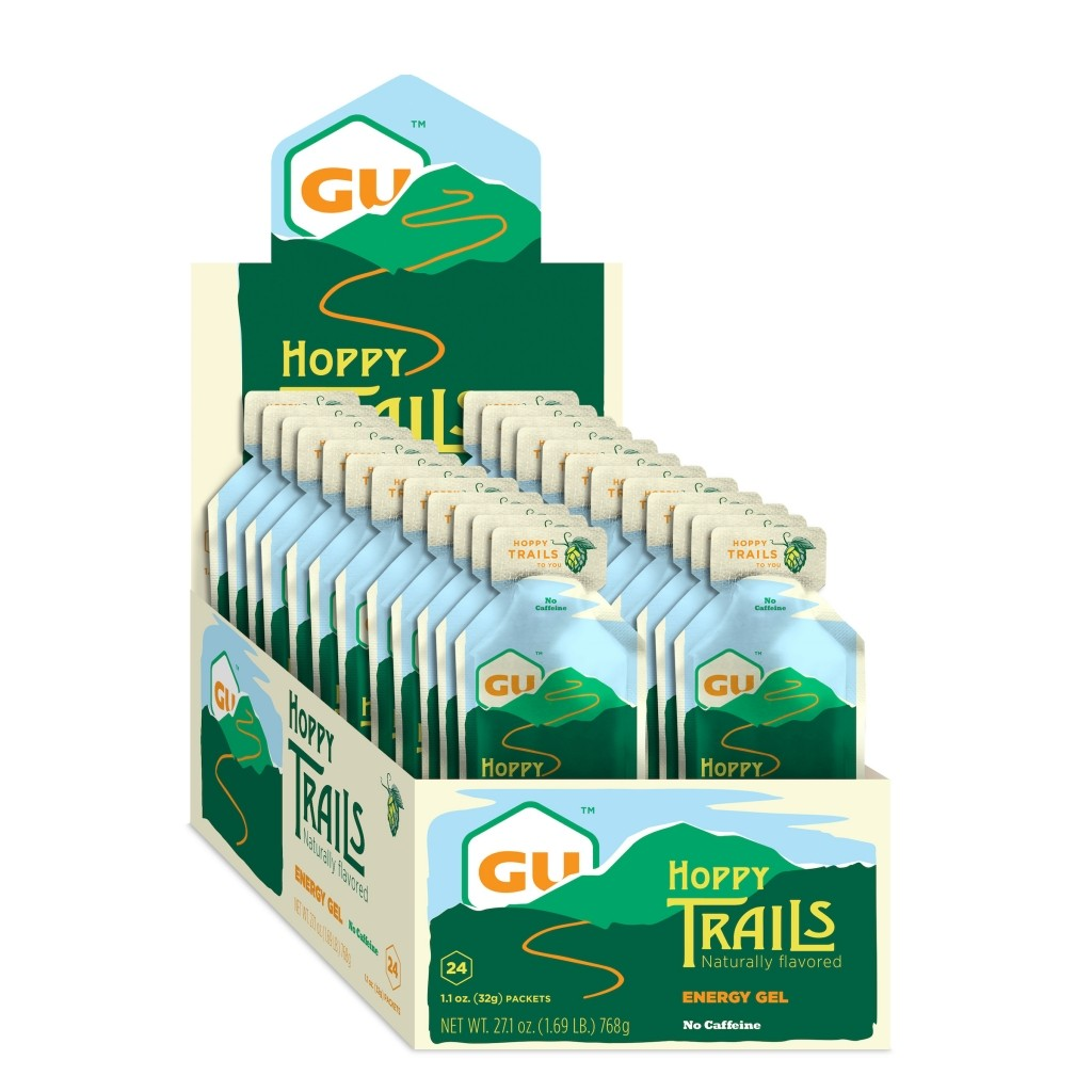GU ENERGY GEL - Hoppy Trails 24 Pack