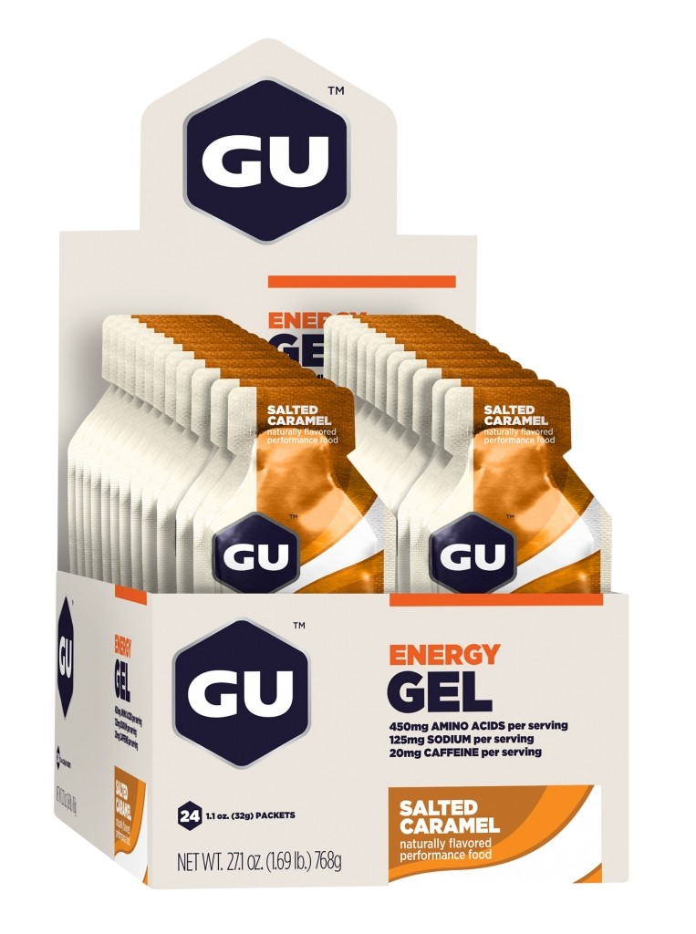 GU Energy Gel - Salted Caramel - Box of 24