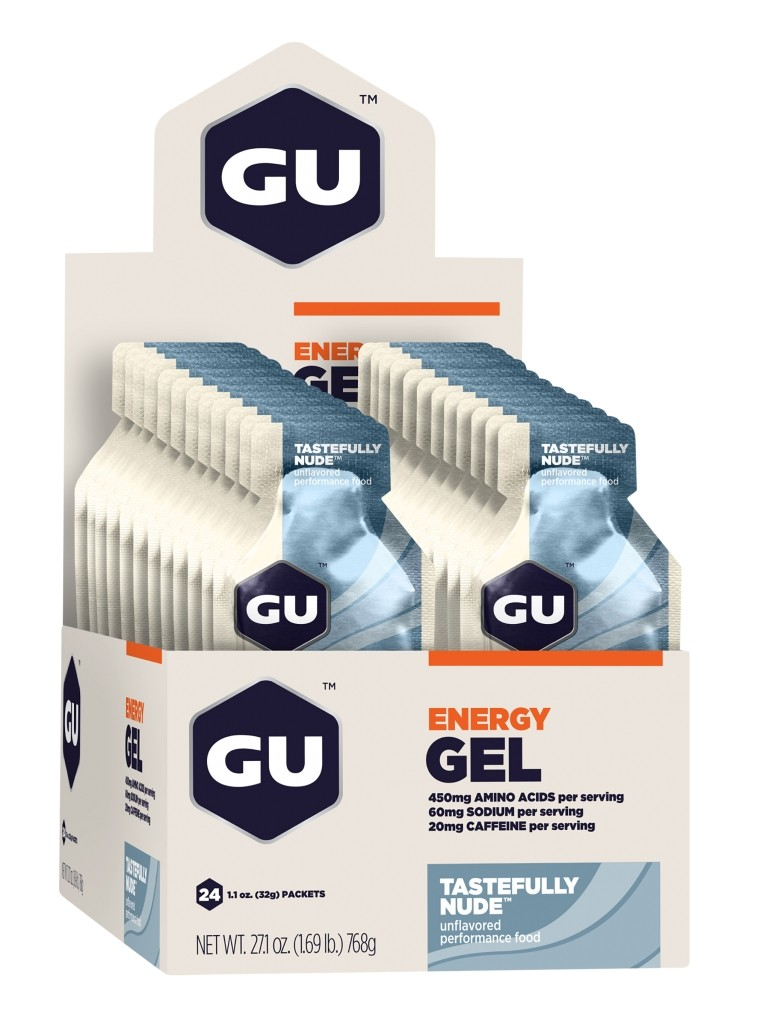 GU Energy Gel - Tastefully Nude - Box of 24