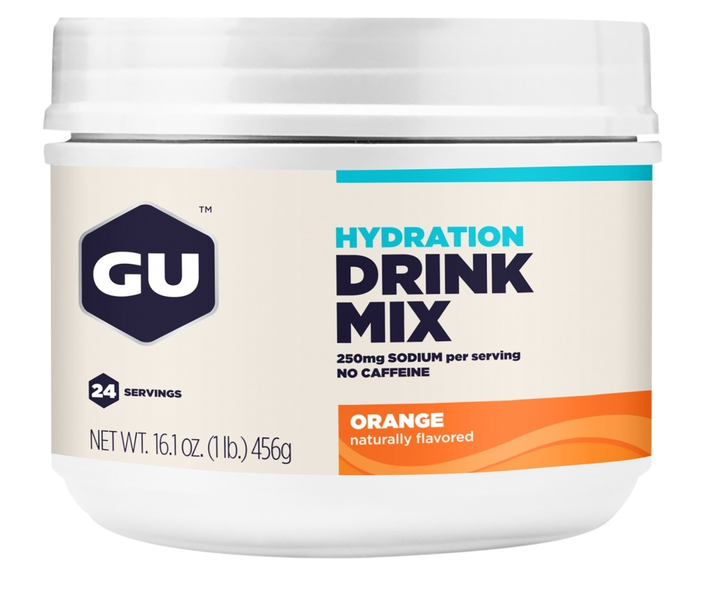 GU Hydration Drink Mix - Orange Canister
