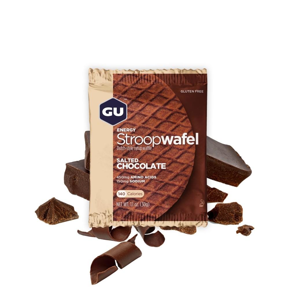 GU Stroopwafel - Salted Chocolate (Gluten Free)