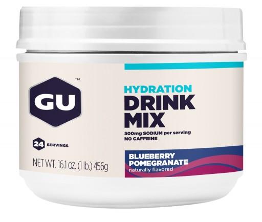 GU Hydration Drink Mix - Blueberry Pomegranate Canister