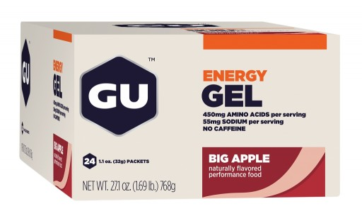 GU Energy Gel - Big Apple - Box 24