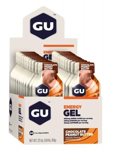 GU Energy Gel - Chocolate Outrage - Box of 24