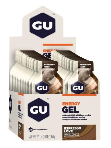GU Energy Gel - Espresso Love - Box of 24