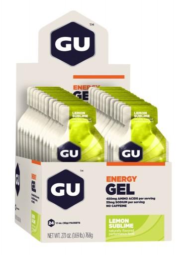 GU Energy Gel - Lemon Sublime - Box of 24