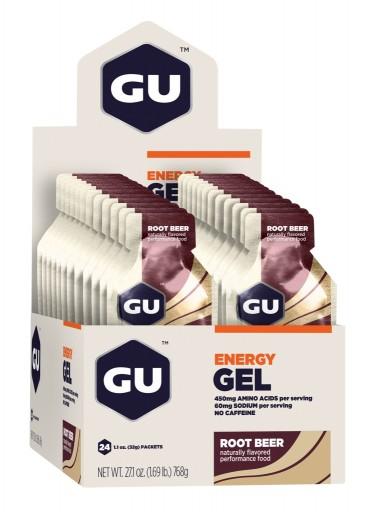 GU Energy Gel - Root Beer - Box of 24