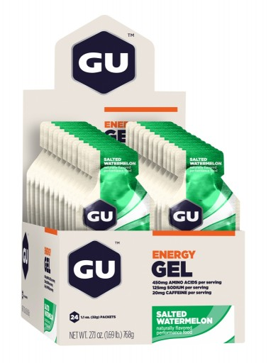 GU Energy Gel - Salted Watermelon - Box of 24