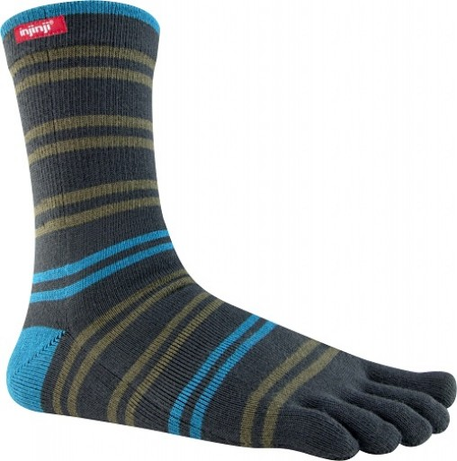 Injinji Sport Original Weight Crew - Torrey Dark Gray