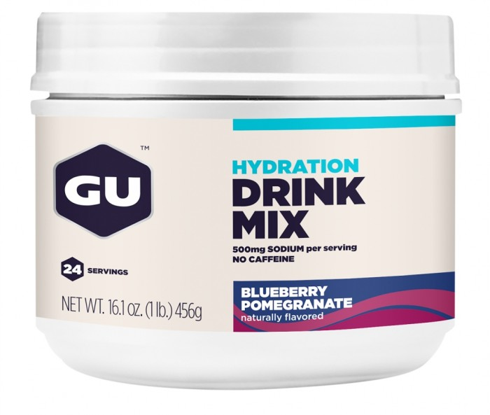 GU Hydration Drink Mix - Blueberry Pomegranate Canister