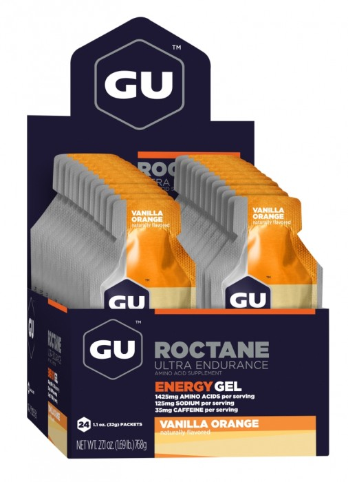 GU Energy Roctane Race Day Gel - Vanilla Orange - Box of 24