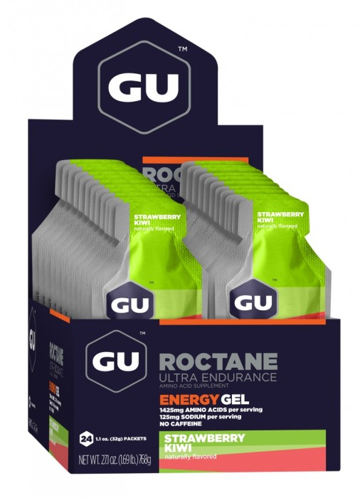 GU Energy Roctane Race Day - Strawberry Kiwi - Box of 24