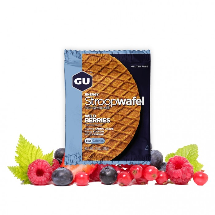 GU Stroopwafel - Wild Berry (Gluten Free)